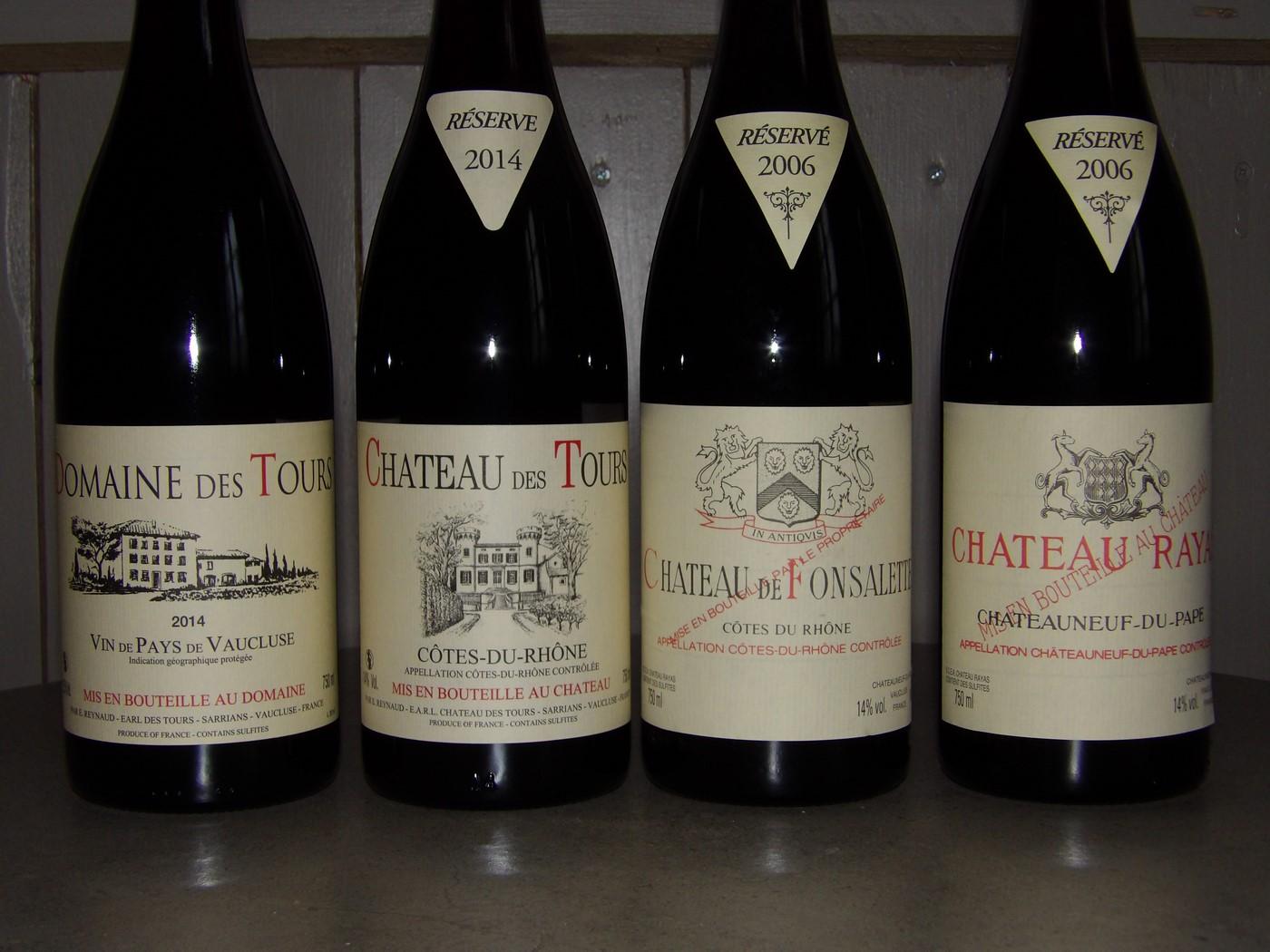 Rayas et ses vins !!!
