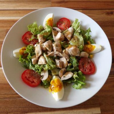 Salade de poulet copier